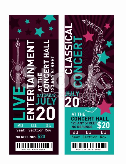 Concert Ticket Template Psd Unique 11 Concert Ticket Templates In Psd for Shop