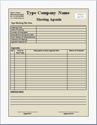 Conference Call Agenda Templates Fresh 10 formally Used Agenda Templates