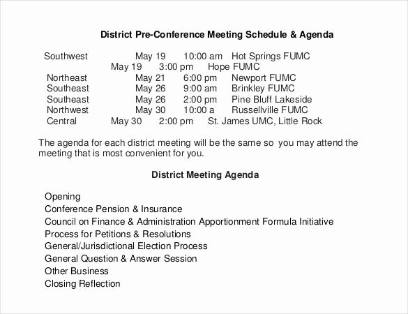 Conference Call Agenda Templates Unique 50 Meeting Agenda Templates Pdf Doc