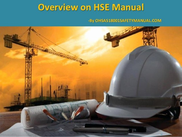 Construction Safety Manual Template Best Of Ppt Presentation On Hse Manual