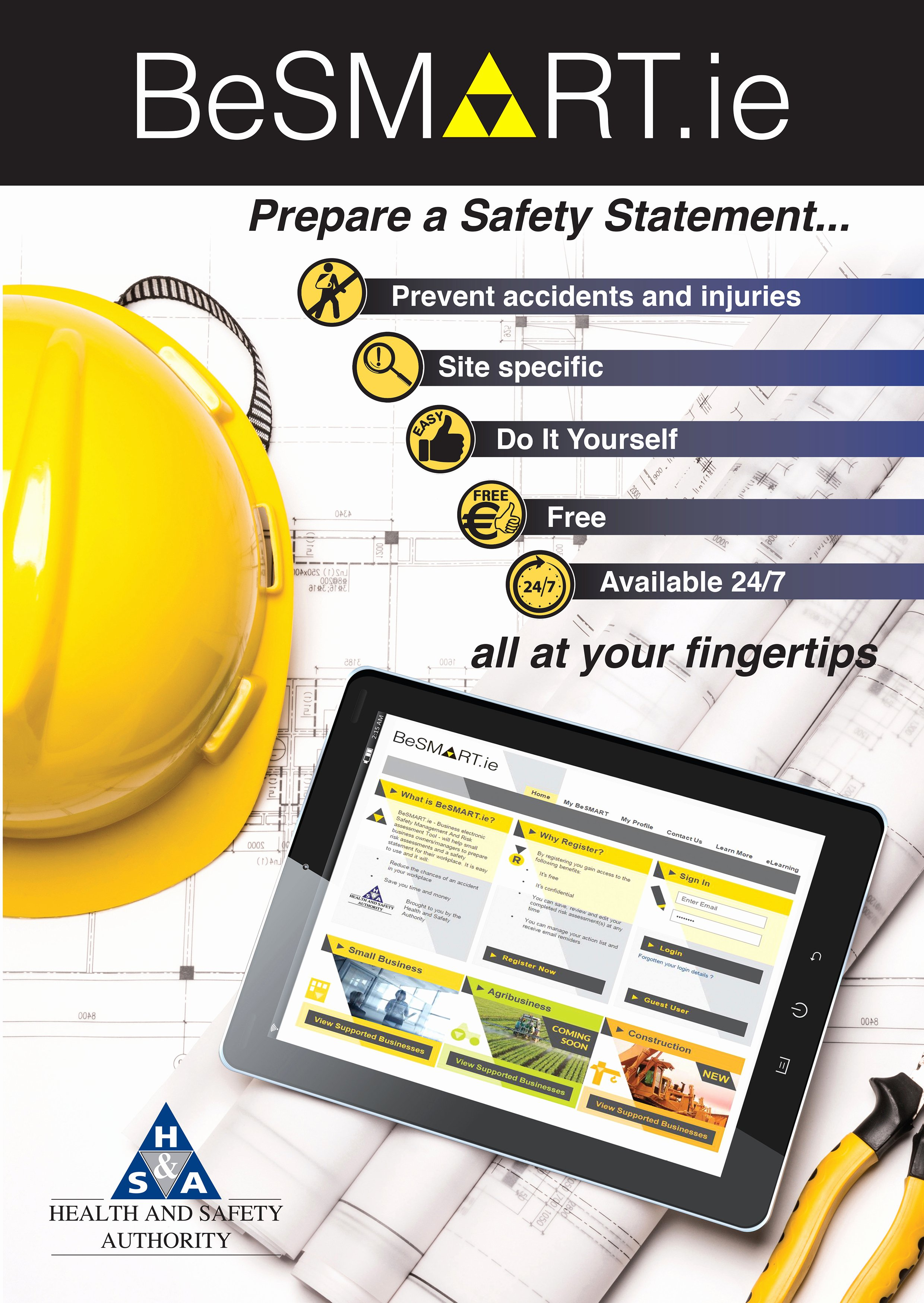 Construction Safety Manual Template Fresh Besmart for Construction Health and Safety Authority