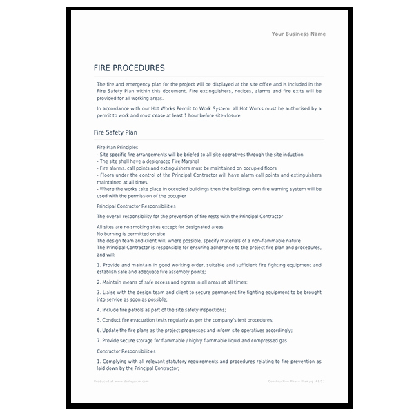 Construction Safety Manual Template Inspirational Construction Safety Construction Safety Manual Template