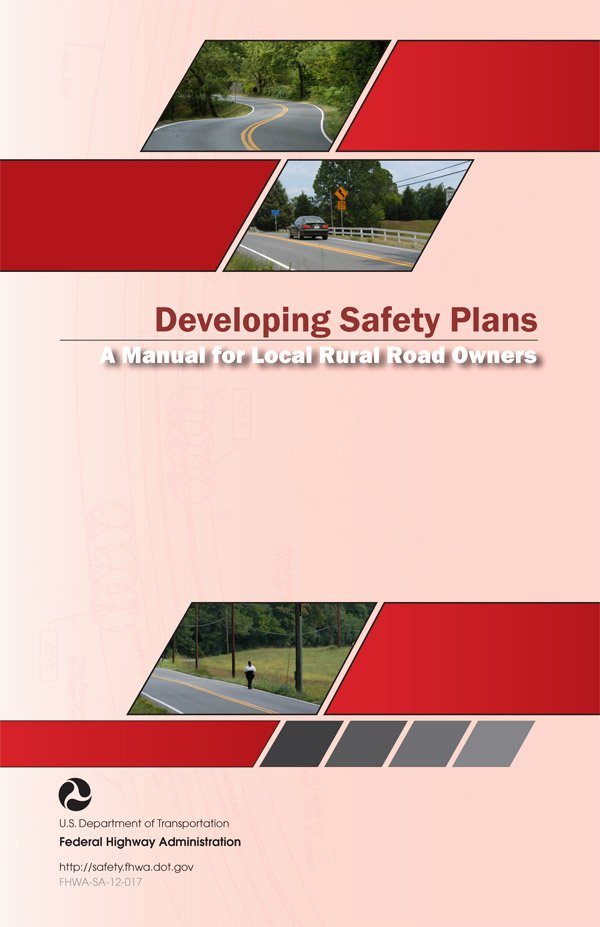 Construction Safety Manual Template Unique Developing Safety Plans A Manual for Local Rural Road