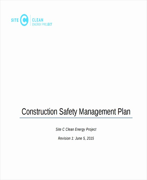 Construction Safety Plan Template Free Elegant 31 Safety Plan Samples Google Docs Ms Word Apple