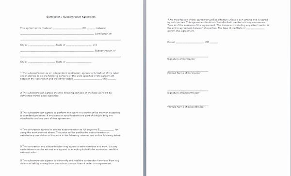 Construction Subcontractor Agreement Template Luxury 26 Best Virtual Self Service Templates Images On Pinterest