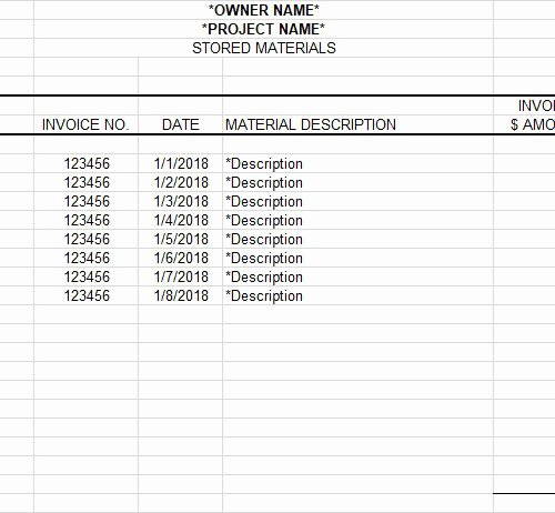 Construction Submittal form Template Beautiful Submittal form Template
