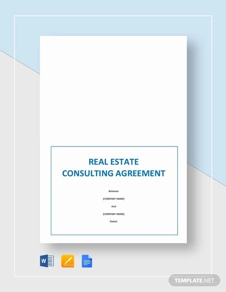 Consulting Agreement Template Word Elegant 24 Consultant Agreement Templates Word Docs