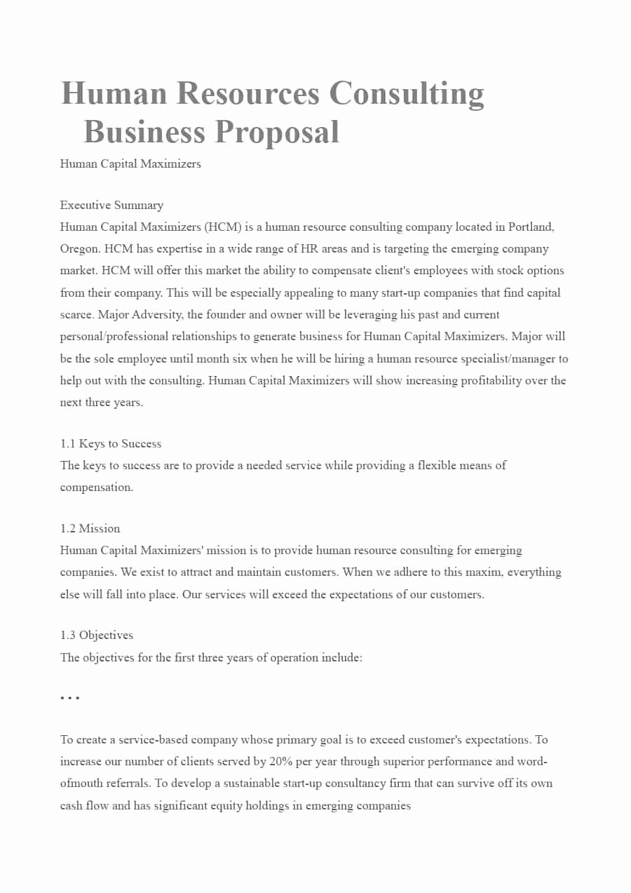 Consulting Proposal Template Word Beautiful 39 Best Consulting Proposal Templates [free] Template Lab