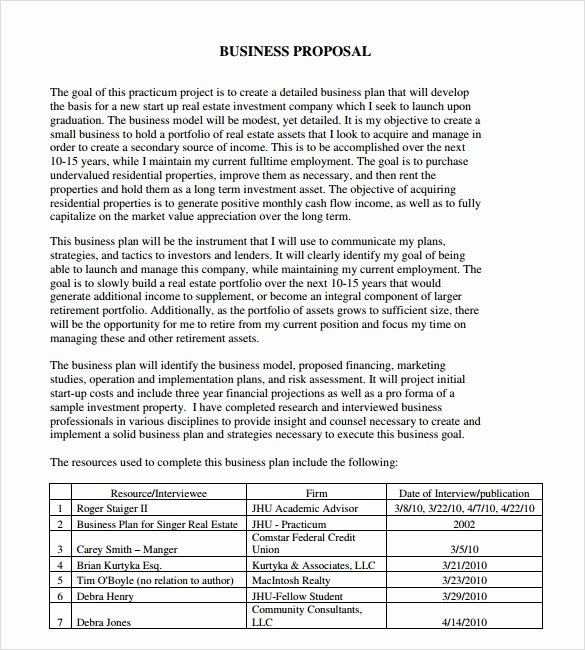 Consulting Proposal Template Word Best Of Sample Consultant Proposal 11 Documents In Pdf Word