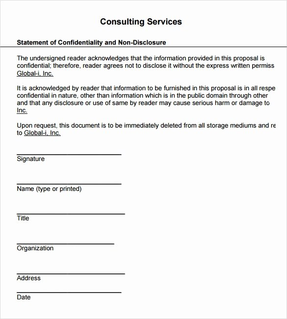 Consulting Proposal Template Word Best Of Service Proposal Template 7 Download Documents In Pdf