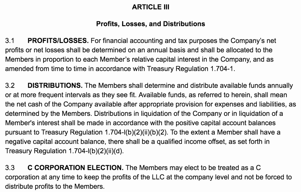 Corporation Operating Agreement Template Lovely How to Create An Llc Operating Agreement [ Free Templates]