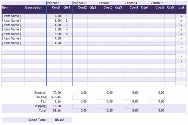 Cost Analysis Excel Template Unique 5 Cost Analysis Templates and Examples for Word Excel