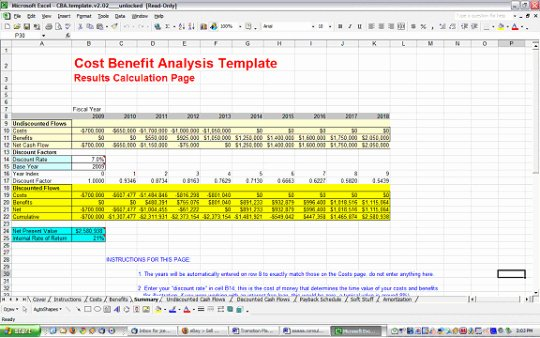 Cost Analysis Template Excel Fresh Cost Benefit Analysis Template Free and