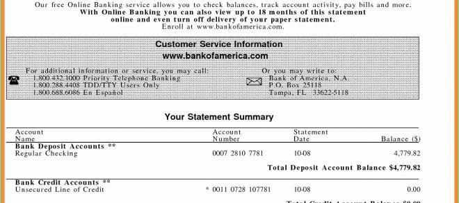 Create Fake Bank Statement Template Unique Saupimmel Part 7