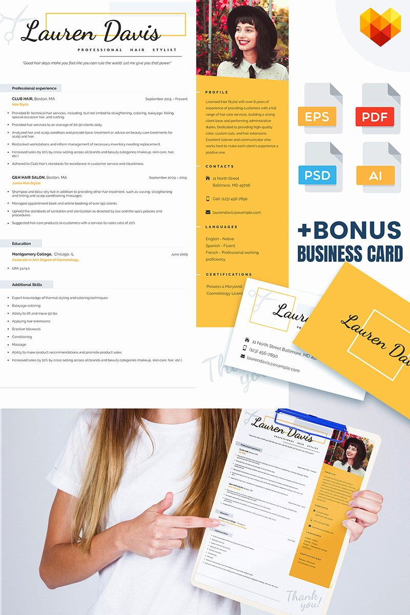 Creative Hair Stylist Resume Templates Fresh 40 Free Printable Resume Templates 2019 to Get A Dream Job