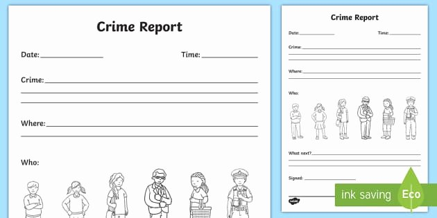 Crime Scene Report Template Luxury Crime Report Writing Template Crime Crime Scene Police