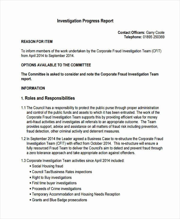 Crime Scene Report Template Unique Criminal Investigation Report Sample – Free Download