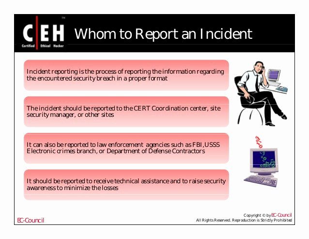 Cyber Security Incident Report Template New How to Write A Security Incident Report Example