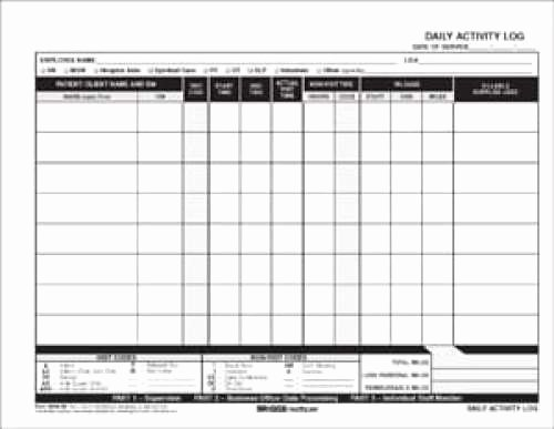 Daily Activity Log Template Excel Luxury 5 Daily Activity Log Templates Free Sample Templates
