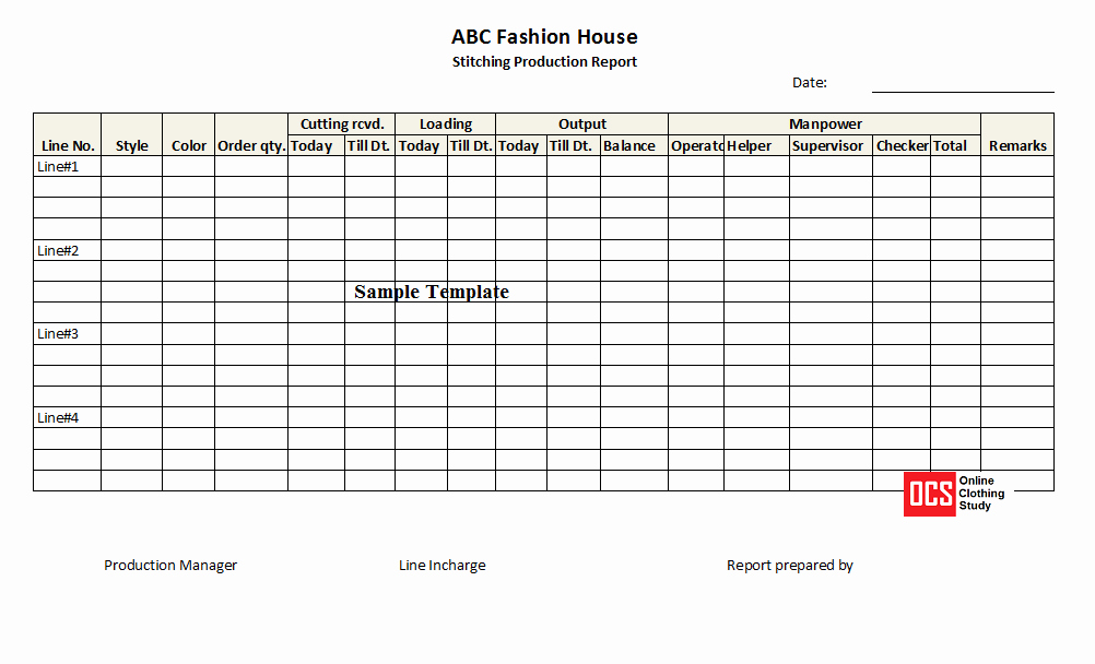 Daily Report Template Excel Best Of Daily Production Report Excel Template Free Download