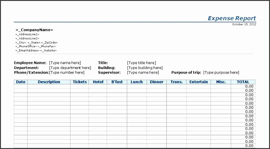 Daily Report Template Excel Lovely 6 Pany Daily Report Template Sampletemplatess