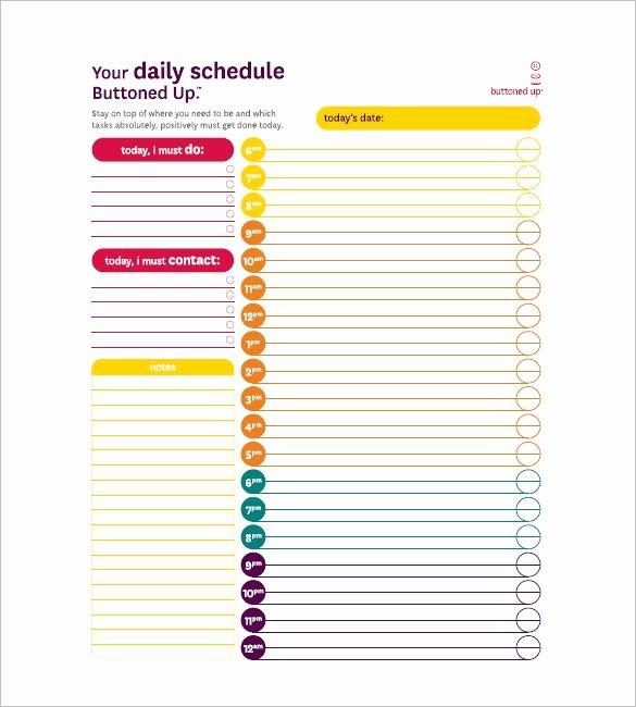 Daily Task List Template Word Elegant 10 Task List Templates