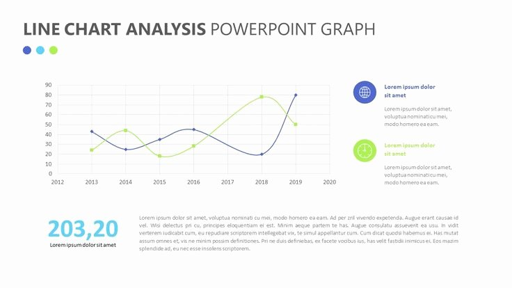 Data Analysis Plan Template New Line Chart Analysis Powerpoint Graph Related Powerpoint