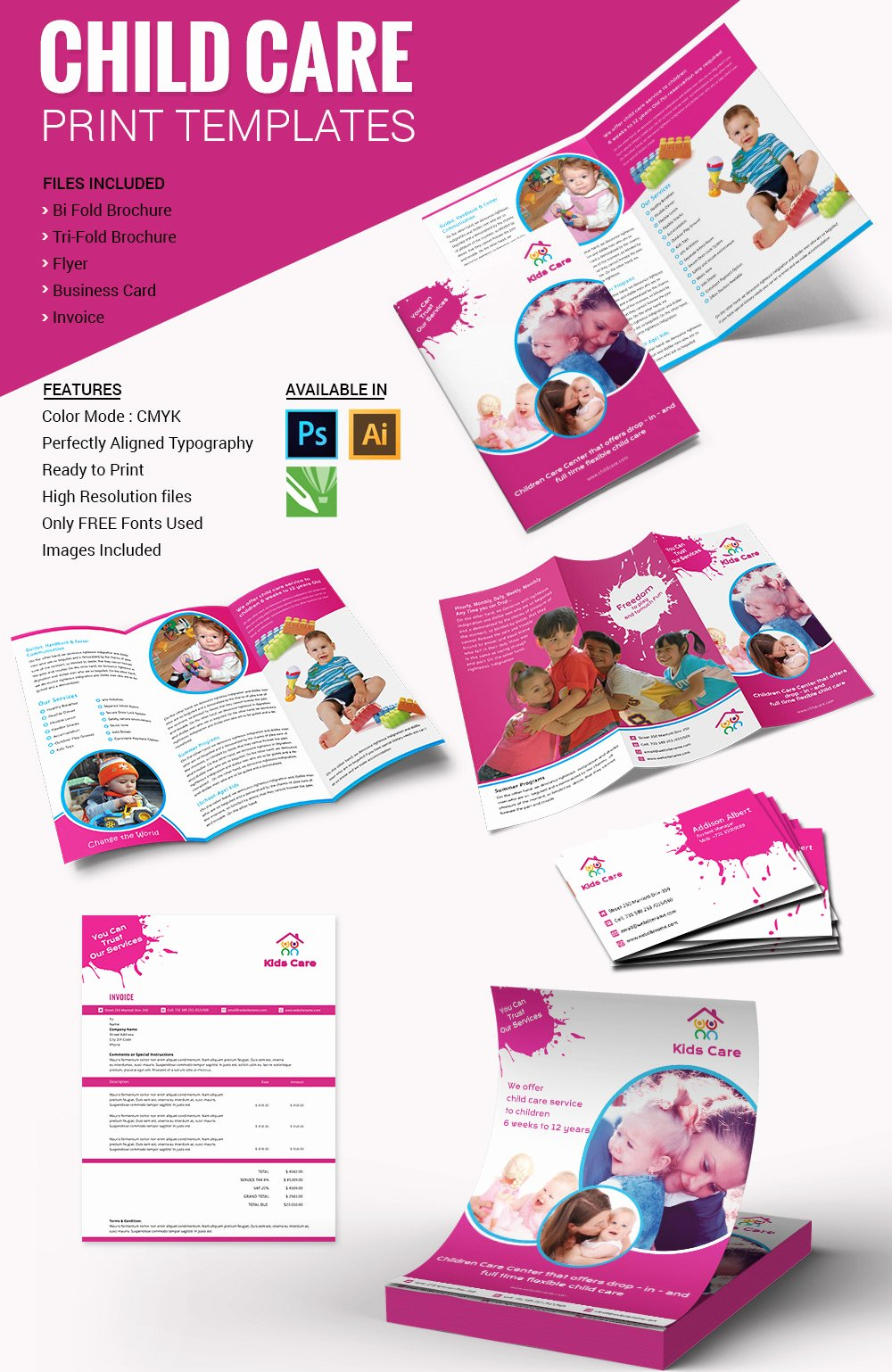 Daycare Flyers Templates Free Awesome 10 Beautiful Child Care Brochure Templates