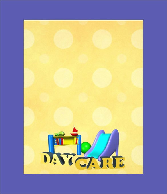 Daycare Flyers Templates Free Beautiful 33 Daycare Flyer Templates Word Psd Ai Eps Vector