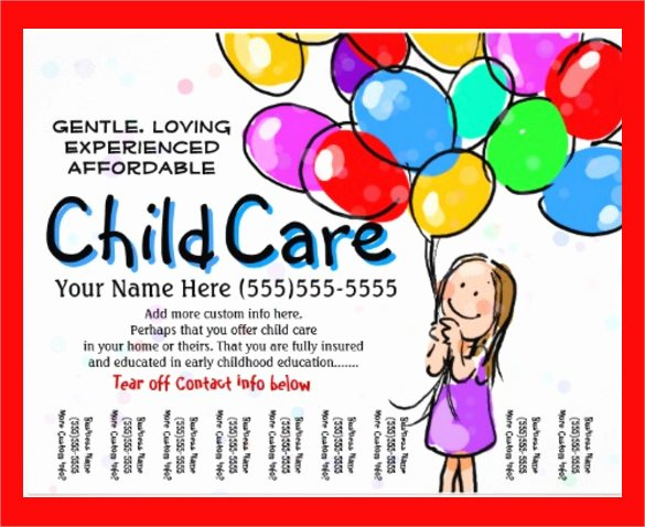 Daycare Flyers Templates Free Best Of 33 Daycare Flyer Templates Word Psd Ai Eps Vector