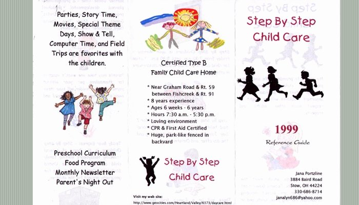 Daycare Flyers Templates Free Elegant 5 Daycare Flyers Templates