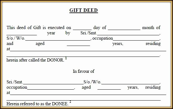 Deed Of Gift Template Best Of 5 Ways Of Transferring or Acquiring Real Estate Property