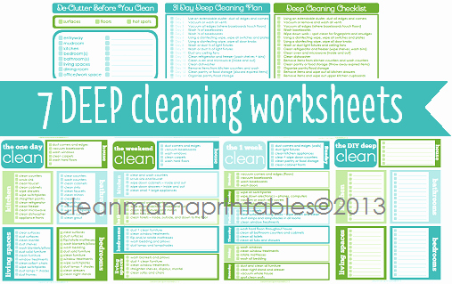 Deep Cleaning Checklist Template Best Of House Cleaning Ultimate House Cleaning Schedule