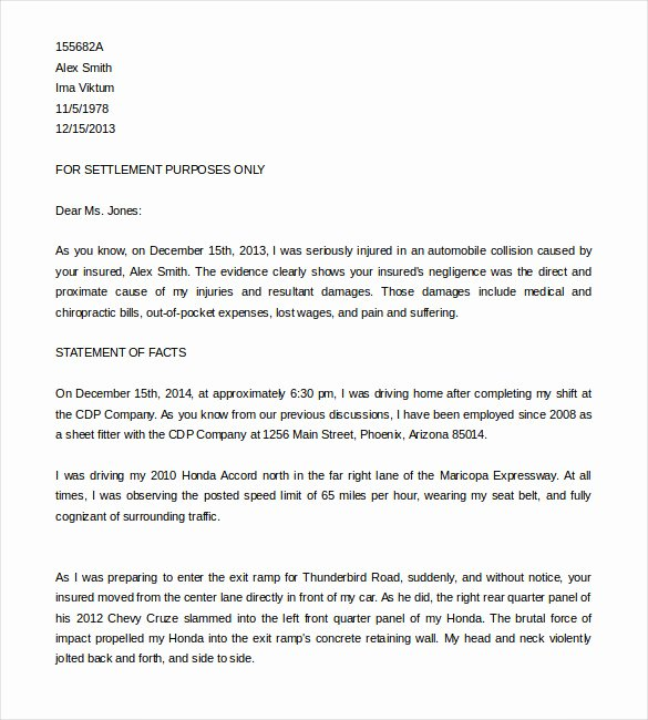 Demand Letter Template Free Fresh Demand Letter format – Free Download