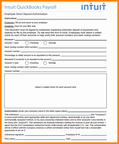 Direct Deposit form Template Unique 9 Direct Deposit form Word