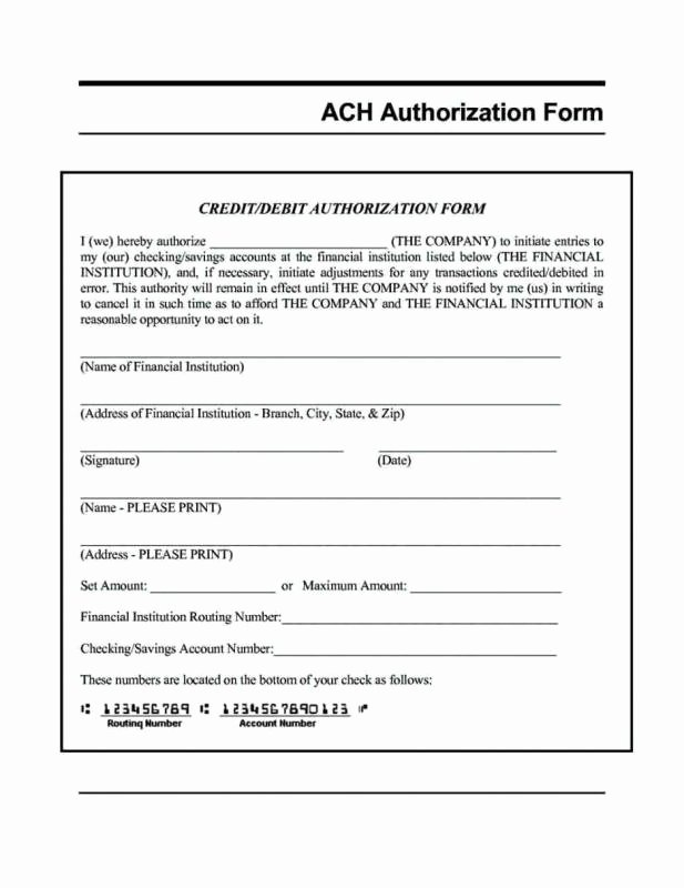 Direct Deposit form Template Unique Direct Deposit form Template