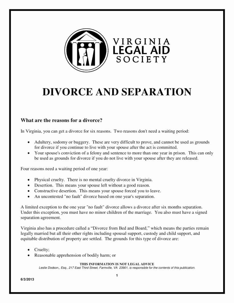 Divorce Agreement Template Free Luxury 9 Divorce Agreement Templates In Pdf