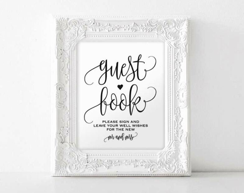 Diy Guest Book Templates Awesome Diy Wedding Guest Book Template Sampletemplatess