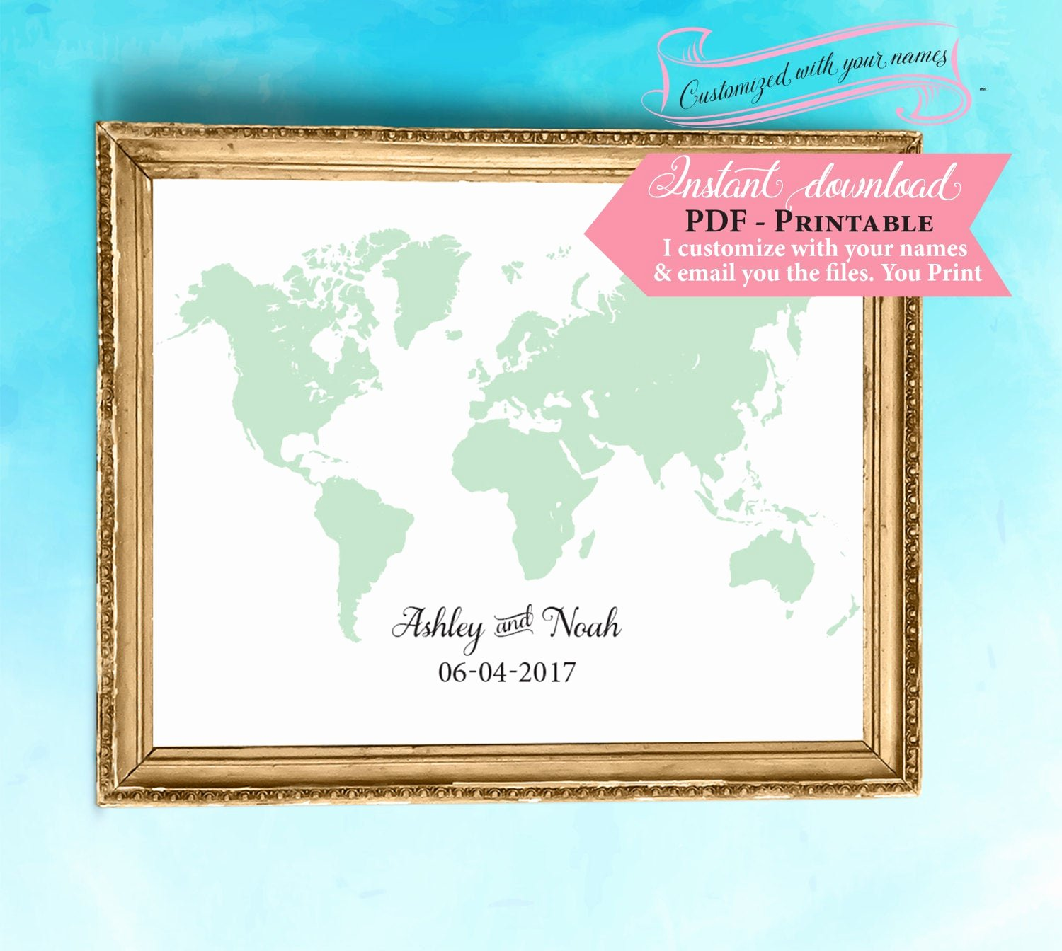 Diy Guest Book Templates Luxury World Map Guest Book Template Wedding Sign Printable