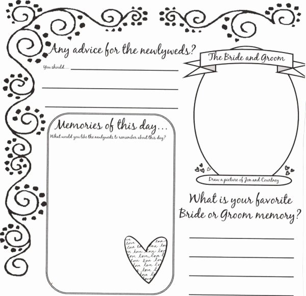 Diy Guest Book Templates Unique 34 Best Images About Dyi Printable Wedding Guest Book