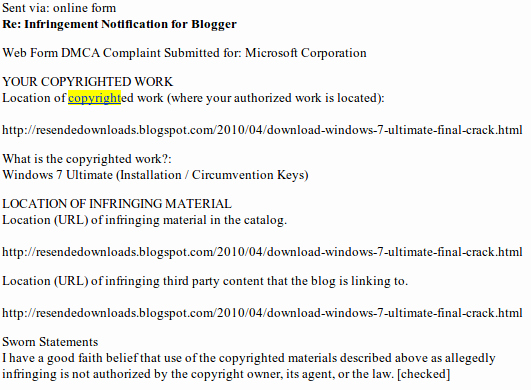 Dmca Takedown Notice Template Best Of Chilling Effects – A Lesson In Dmca Takedown Notices