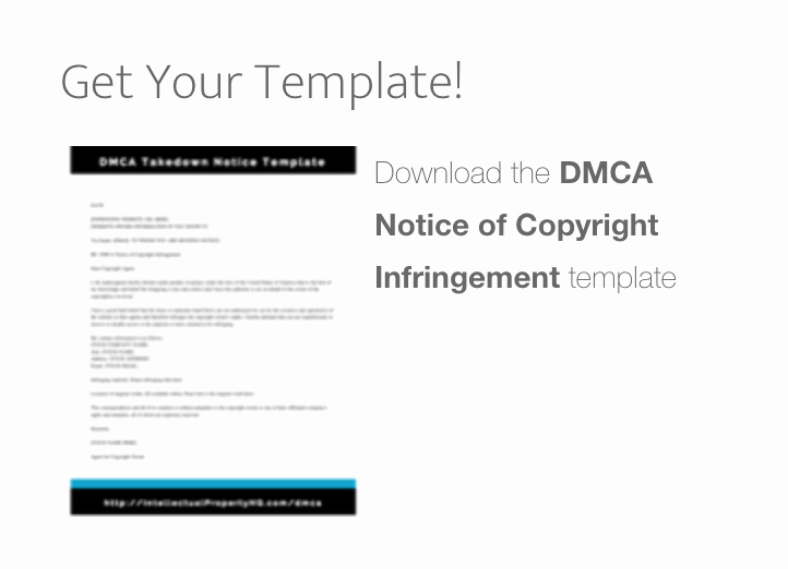 Dmca Takedown Notice Template Fresh Dmca Takedown Notice Template Intellectual Property Hq