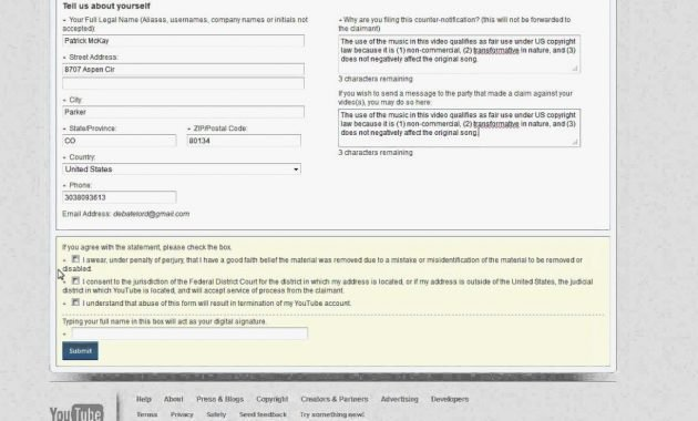 Dmca Takedown Notice Template Lovely How to Create Professionally Managed Takedown Using Dmca