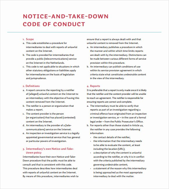 Dmca Takedown Notice Template Unique Sample Dmca Notice 9 Documents In Pdf