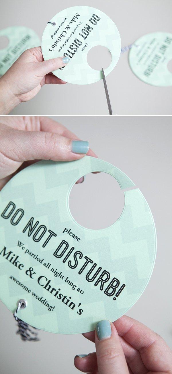 Do Not Disturb Signs Template Fresh Diy Your Own Wedding Do Not Disturb Door Signs