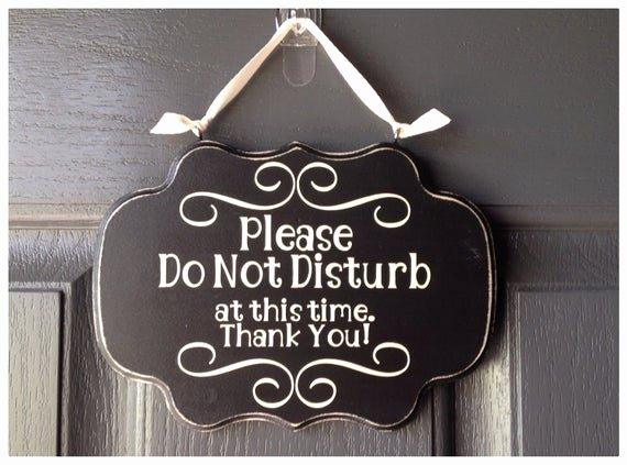 Do Not Disturb Signs Template Luxury Items Similar to Please Do Not Disturb at This Time Thank