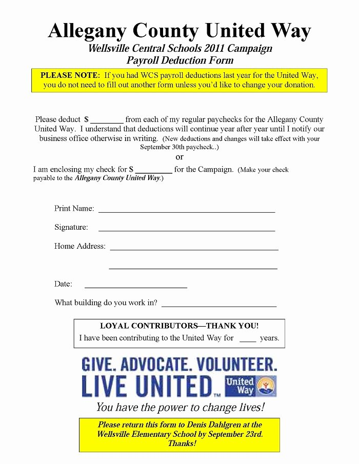 Donation Pledge form Template Best Of Sample Pledge form – Laustereo