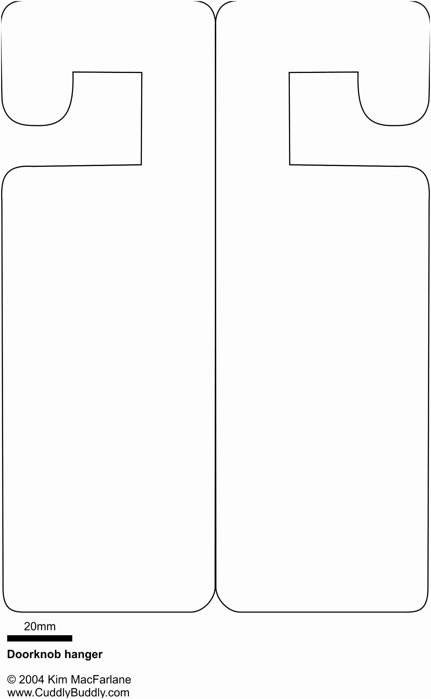 Door Hanger Template for Word Beautiful 8 Wedding Door Hanger Template for Word Poure
