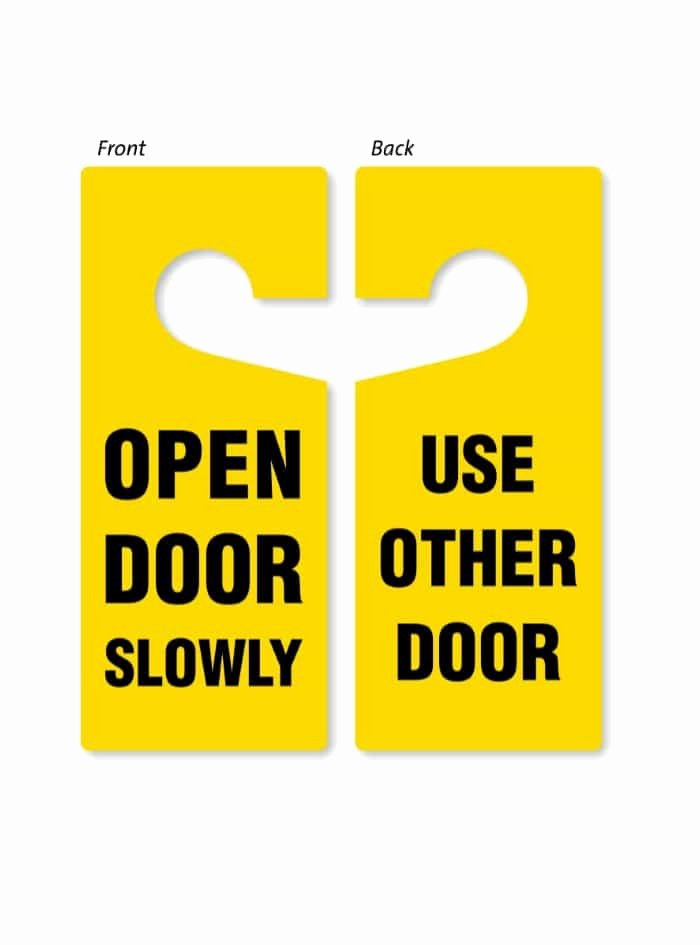 Door Hanger Template for Word Lovely 43 Free Door Hanger Templates Word Pdf Template Lab