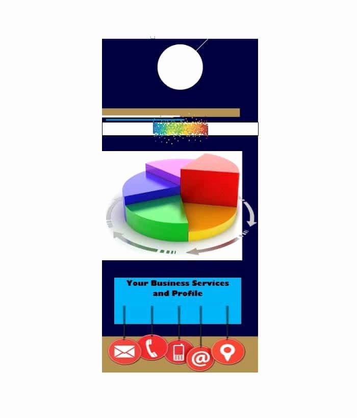 Door Hanger Template for Word Luxury 43 Free Door Hanger Templates Word Pdf Template Lab